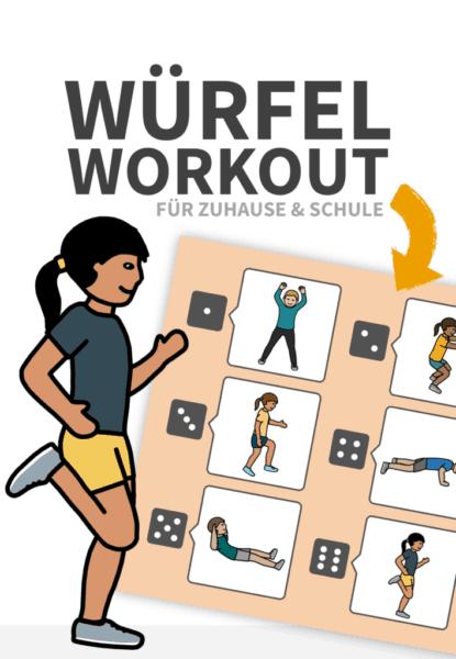 Würfel-Workout für Zuhause oder den Unterricht - vlamingo