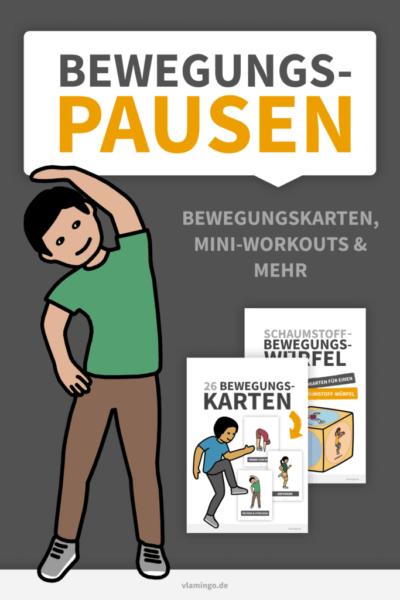 Bewegungspausen im Unterricht (Grundschule & Kindergarten)