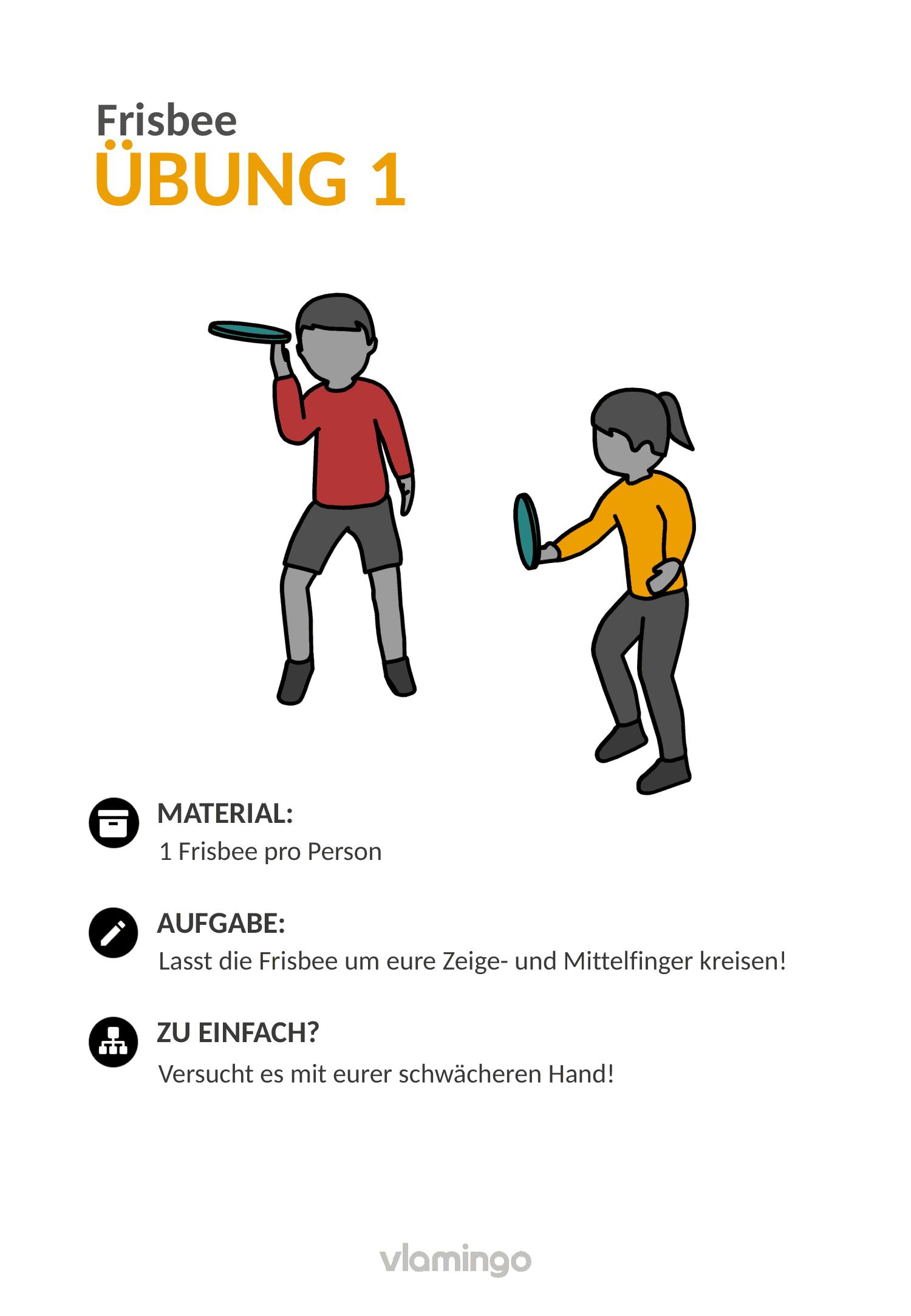 Frisbee - Übung 1