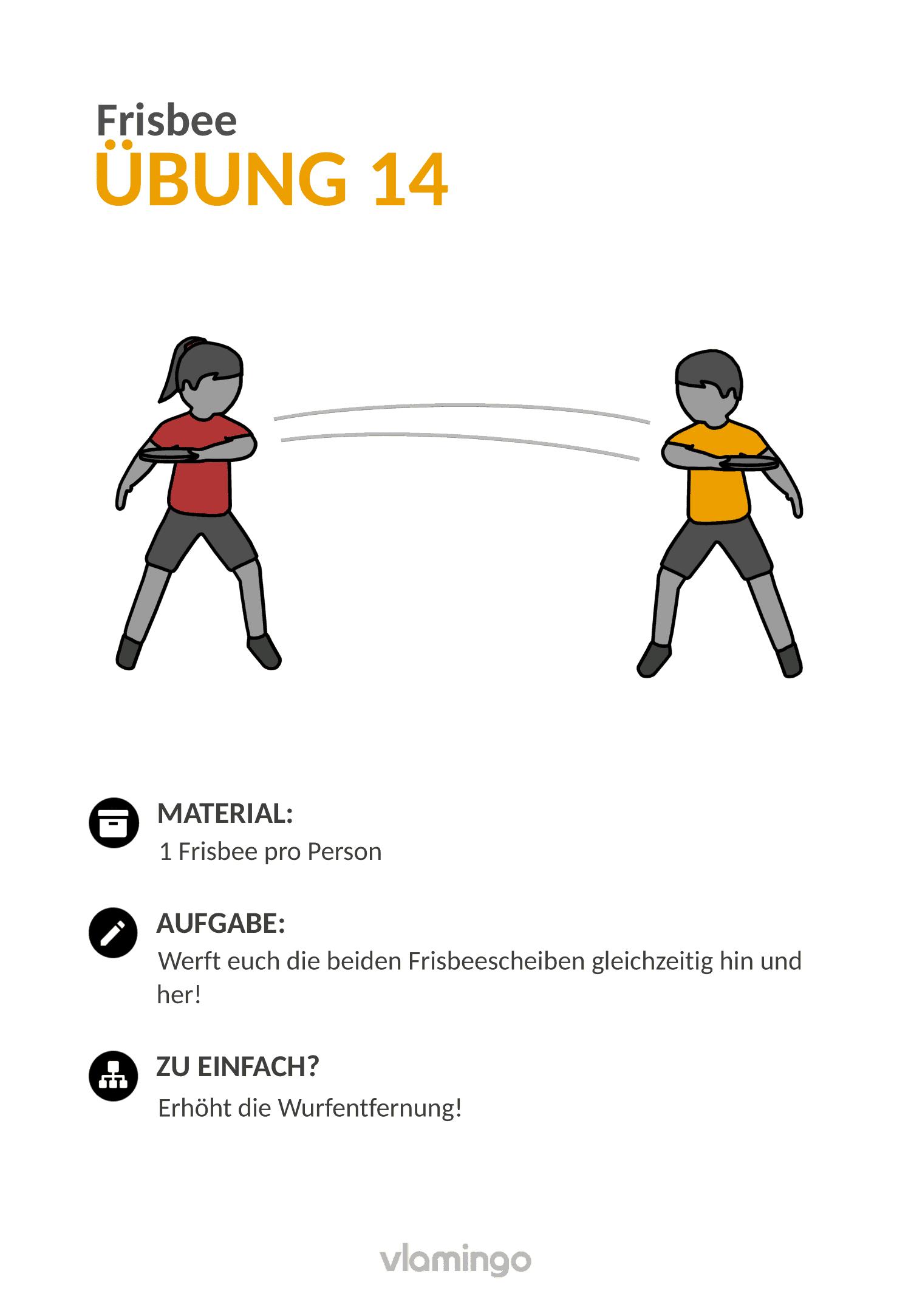 Frisbee - Übung 14