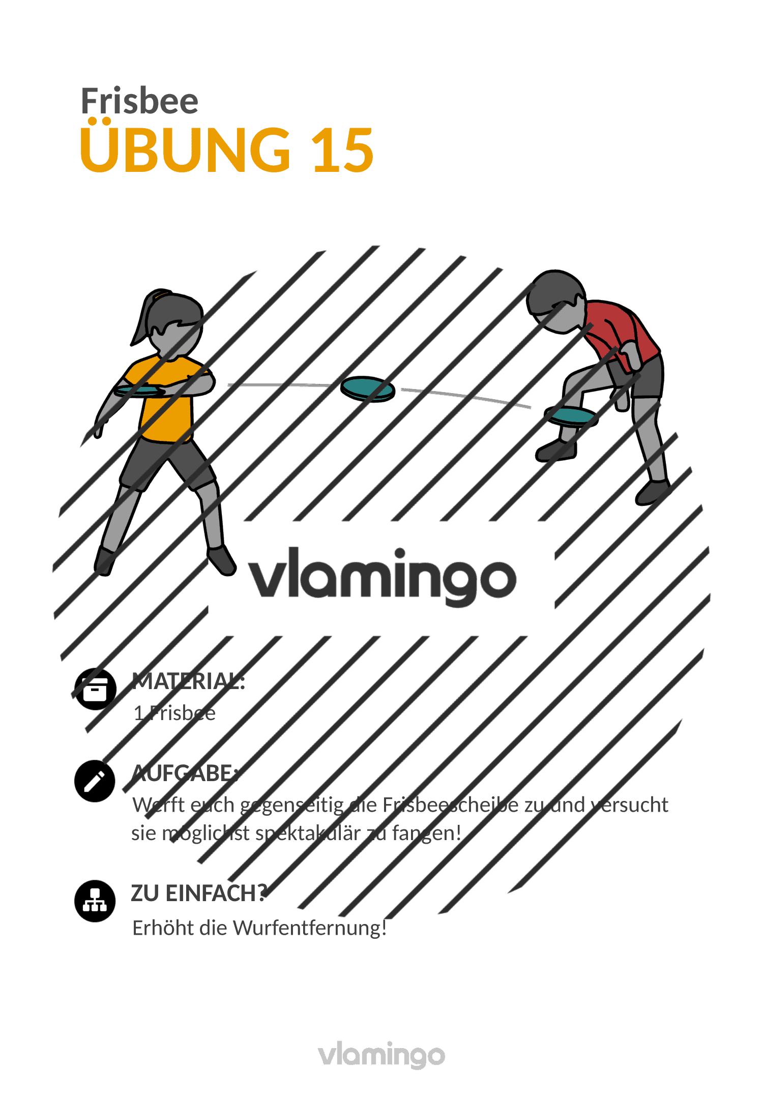 Frisbee - Übung 15