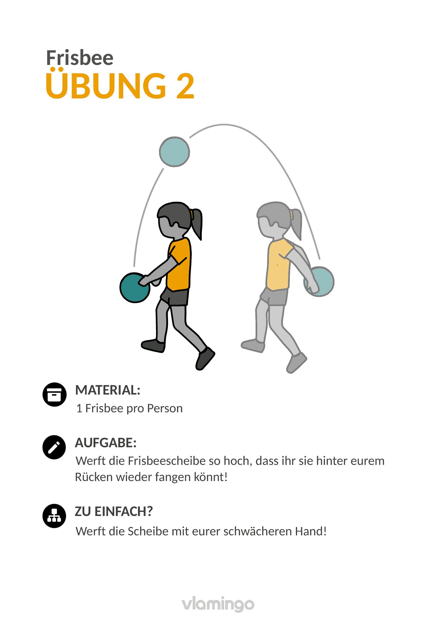 Frisbee - Übung 2