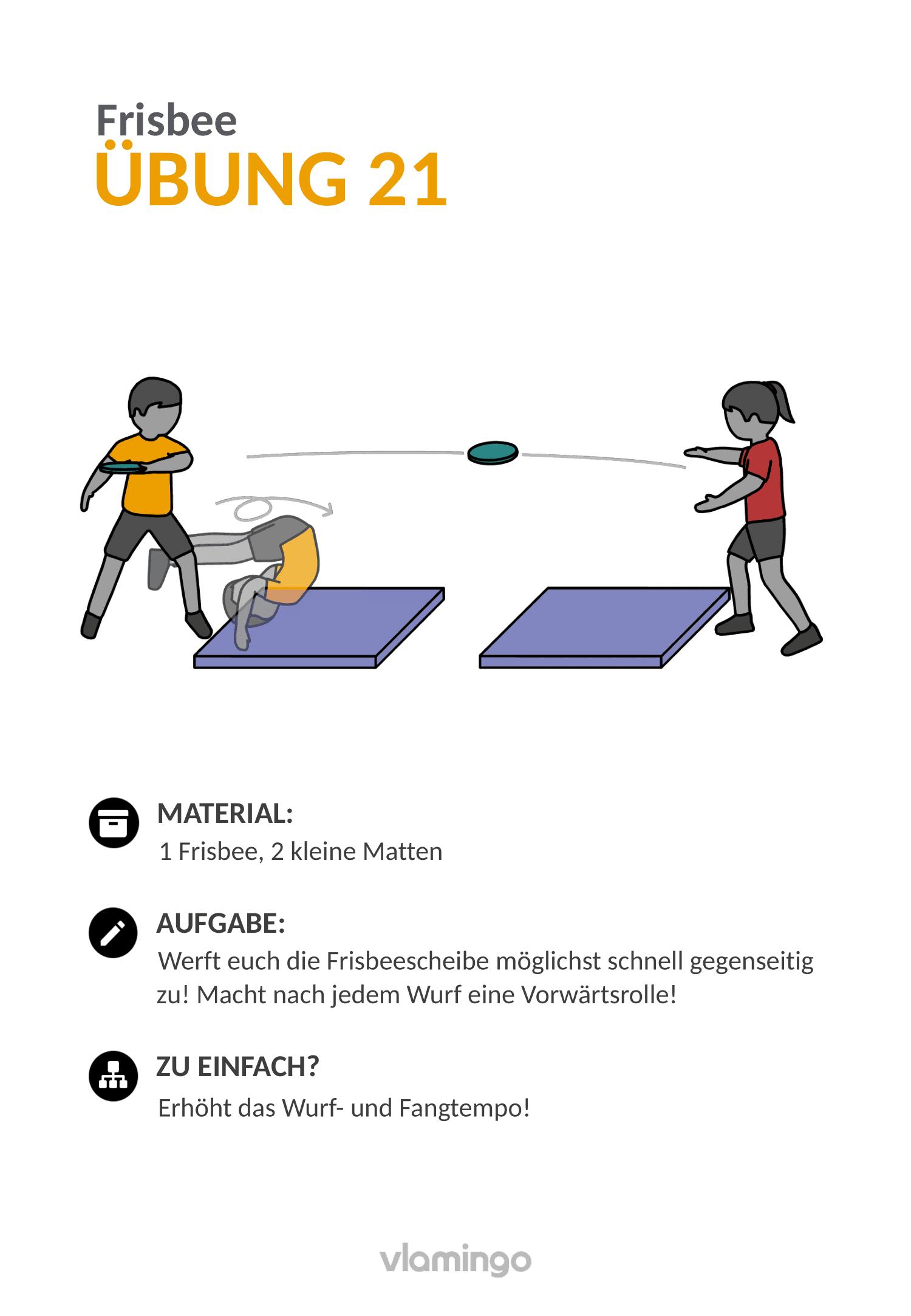 Frisbee - Übung 21