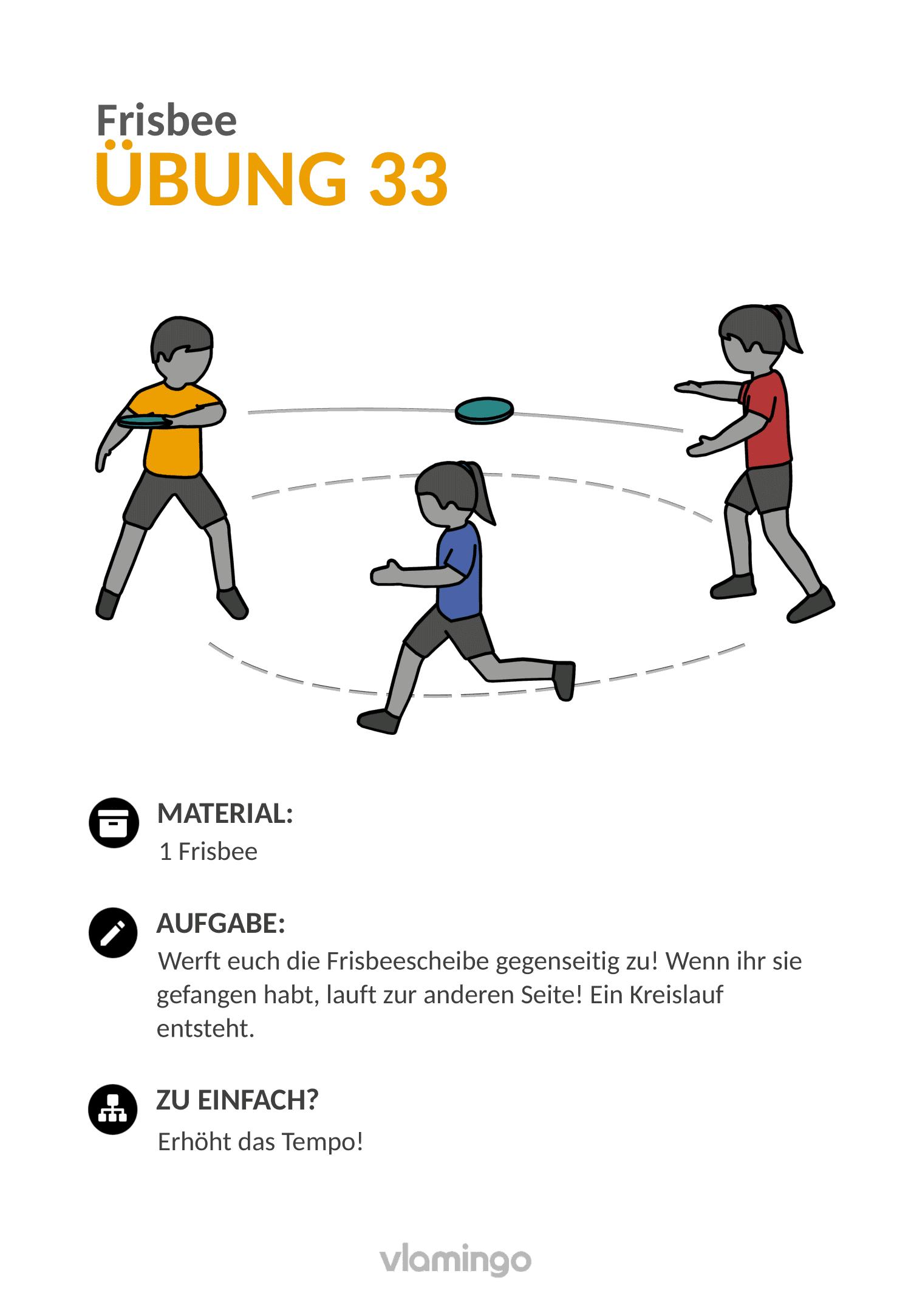 Frisbee - Übung 33