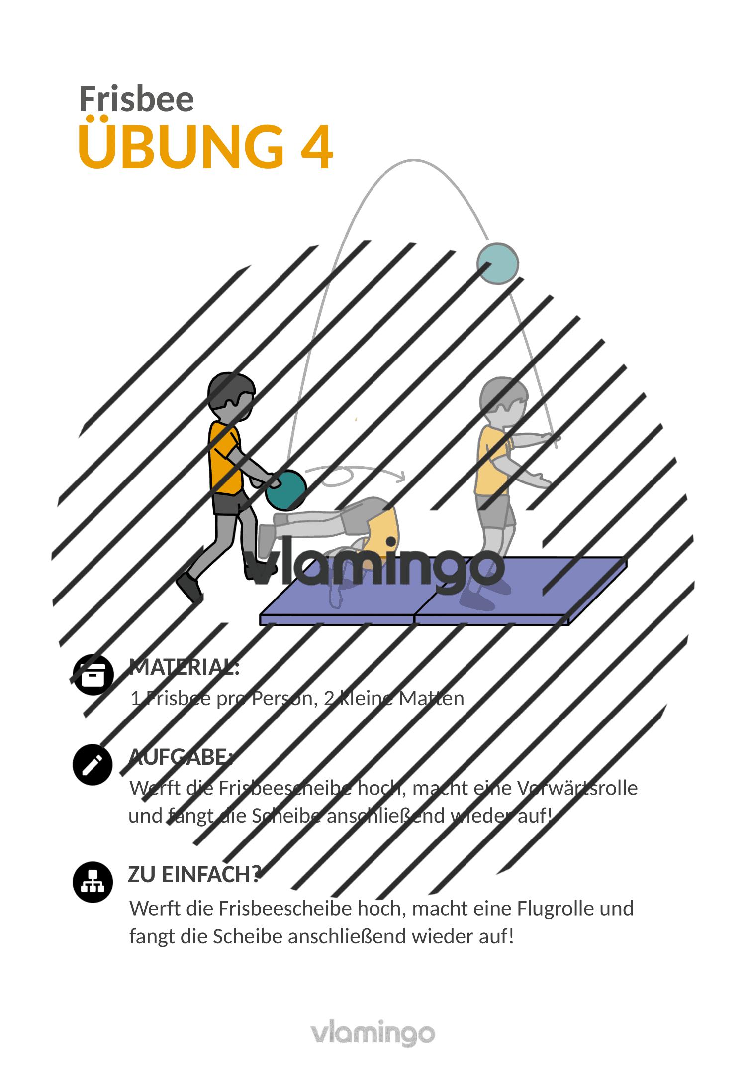 Frisbee - Übung 4