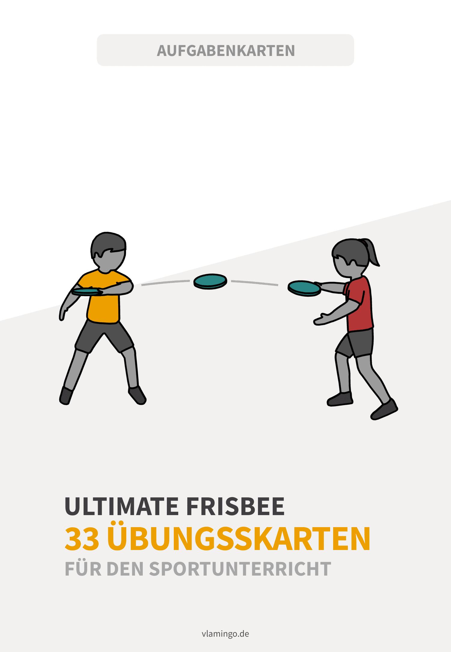 Frisbee - 33 Übungskarten für den Sportunterricht
