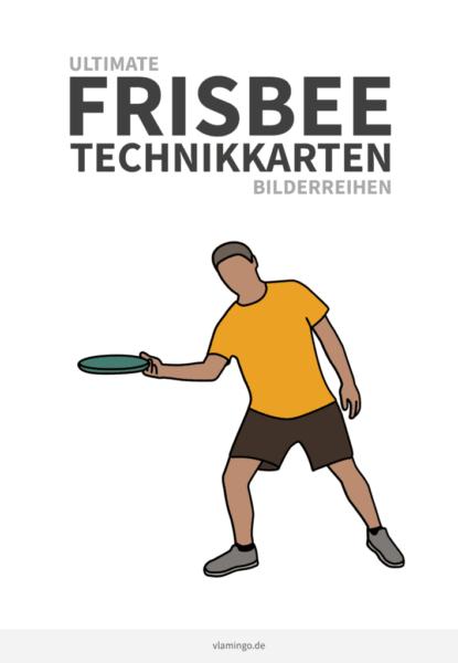Frisbee - Wurftechniken - Technikkarten