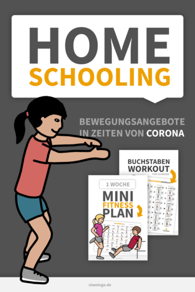 Homeschooling - Bewegungsangebote von vlamingo