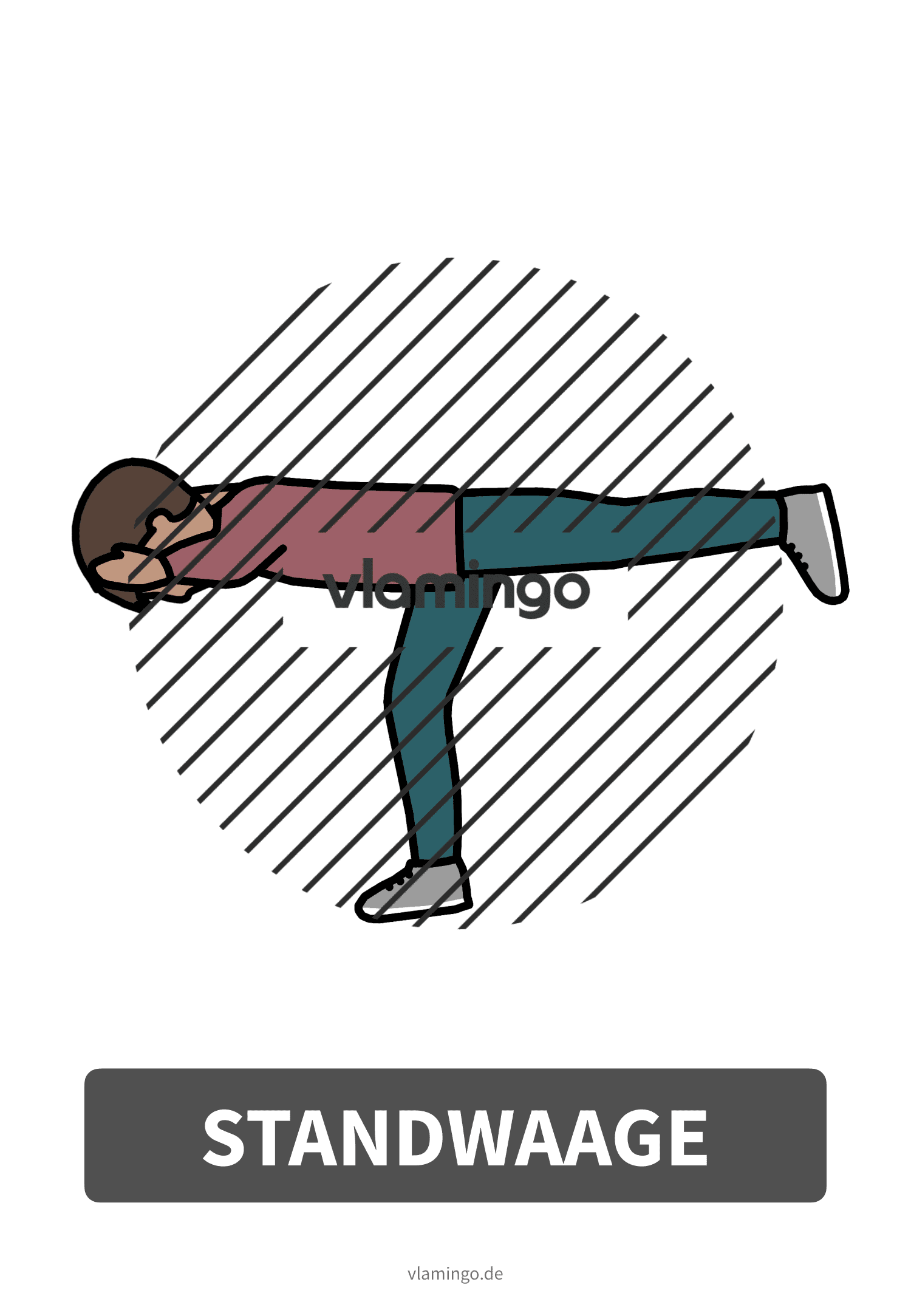 Bewegungskarte - Standwaage