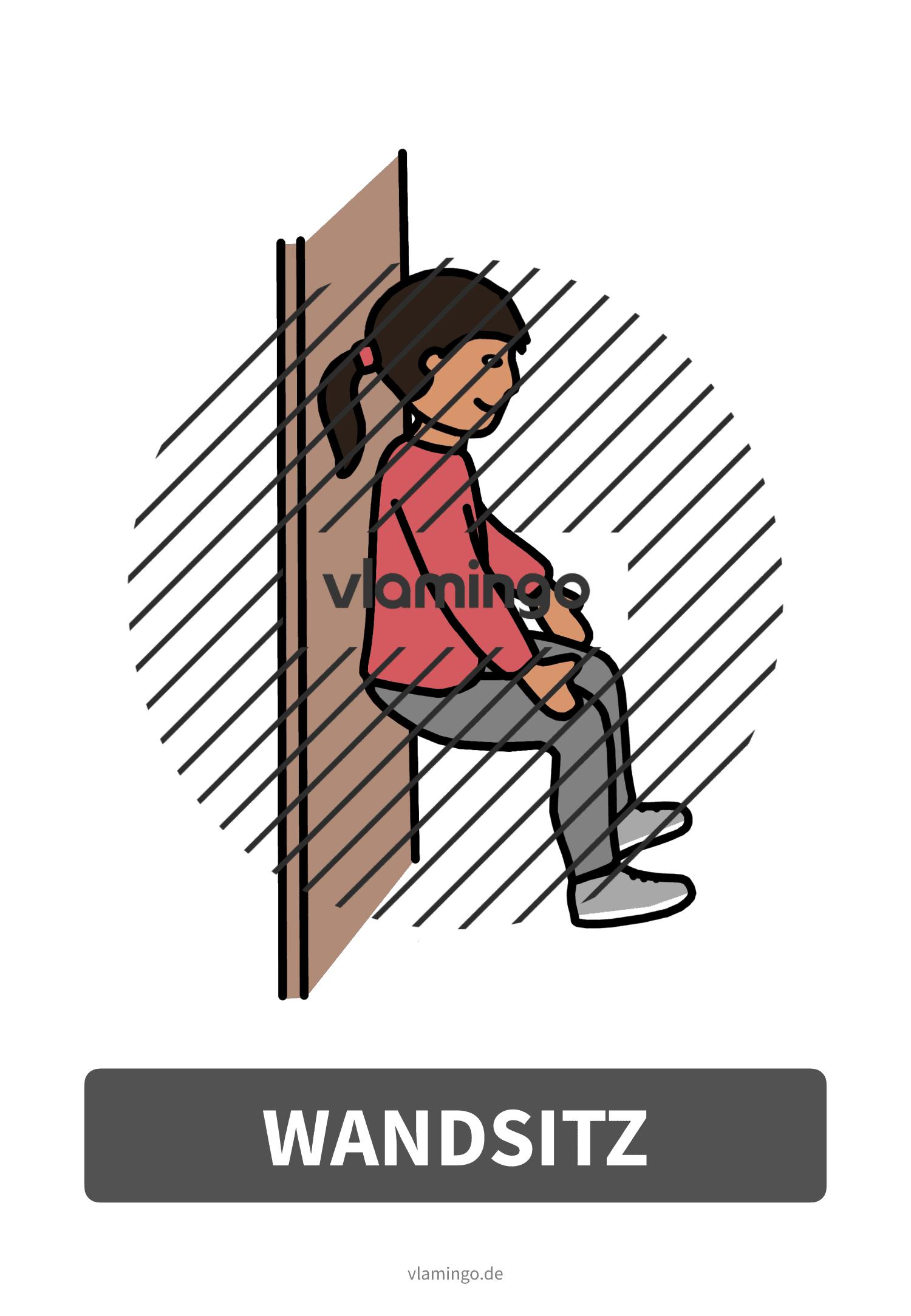 Bewegungskarte - Wandsitz