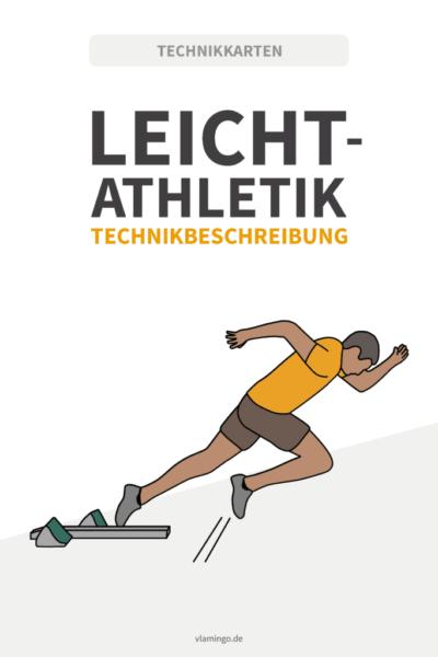 Leichtathletik Technikkarten für den Sportunterricht und Verein