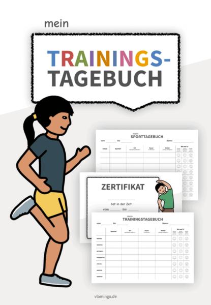 Trainingstagebuch - Vorlagen für die Grundschule