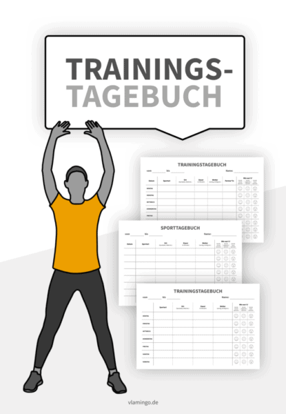 Trainingstagebuch - Vorlagen für die Sekundarstufe