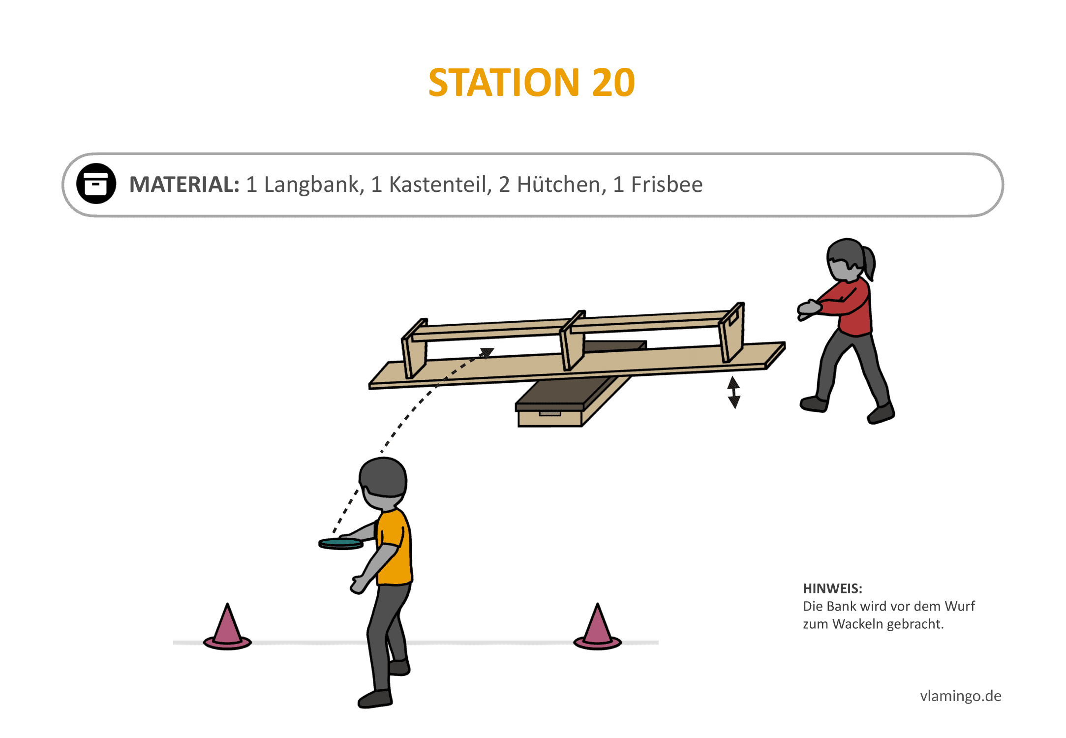 Frisbeegolf (Disc-Golf) - Station 20