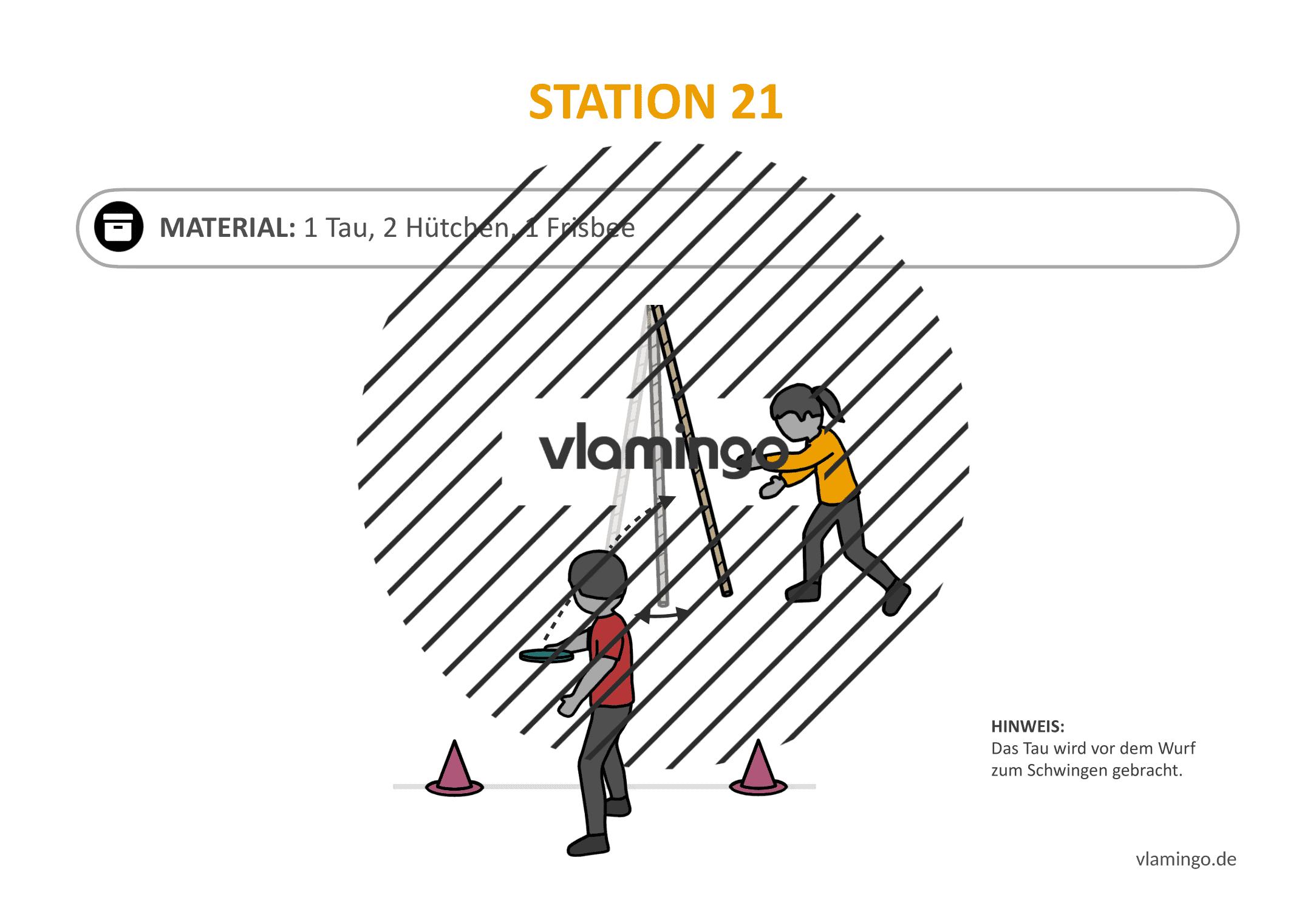 Frisbeegolf (Disc-Golf) - Station 21