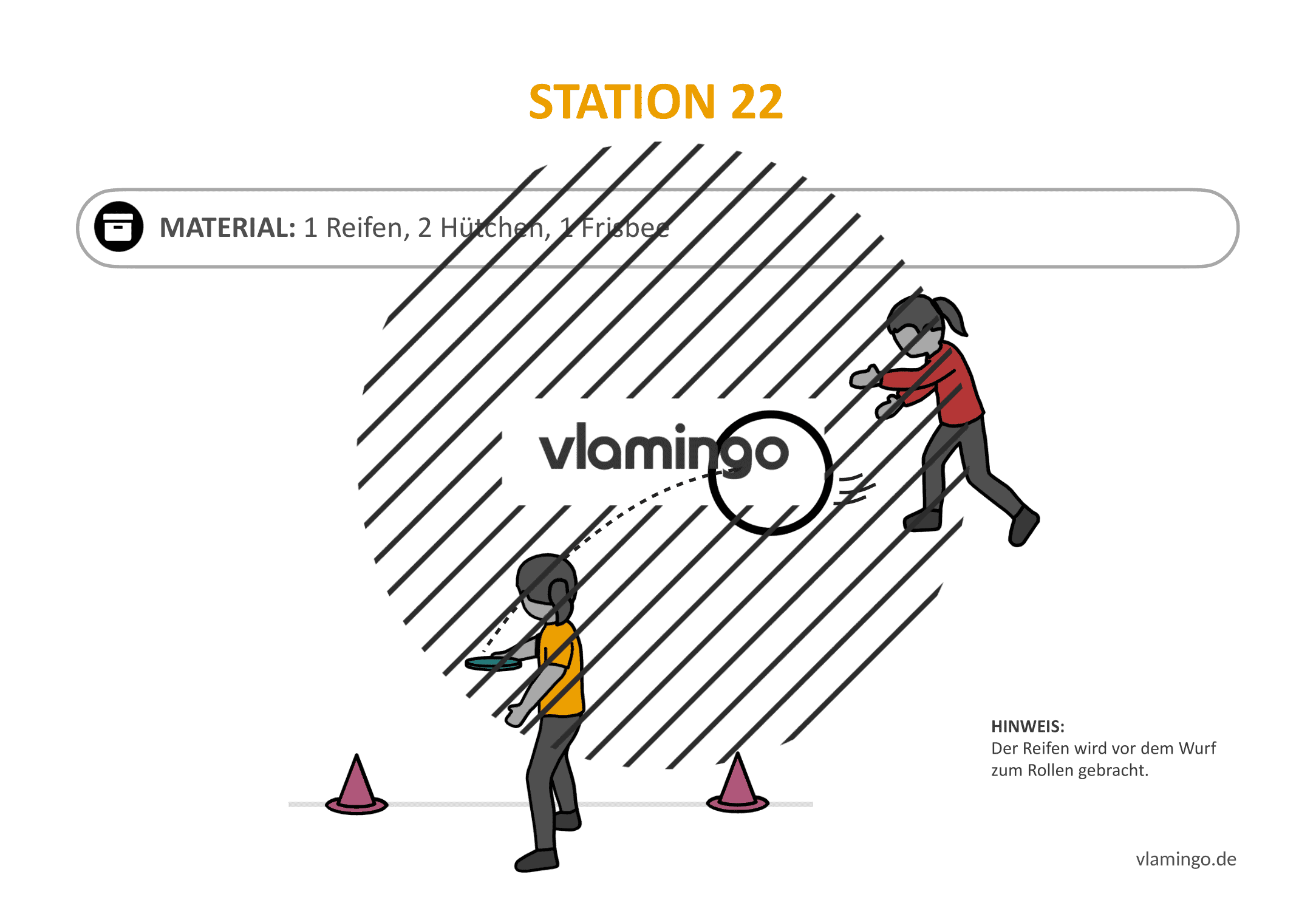Frisbeegolf (Disc-Golf) - Station 22