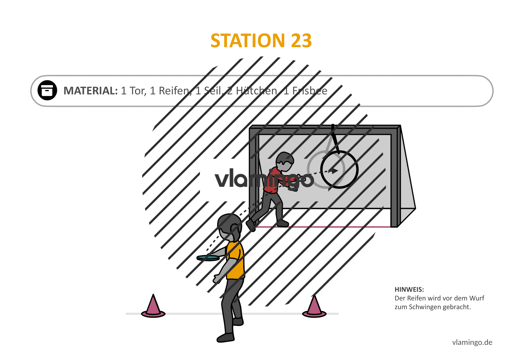 Frisbeegolf (Disc-Golf) - Station 23