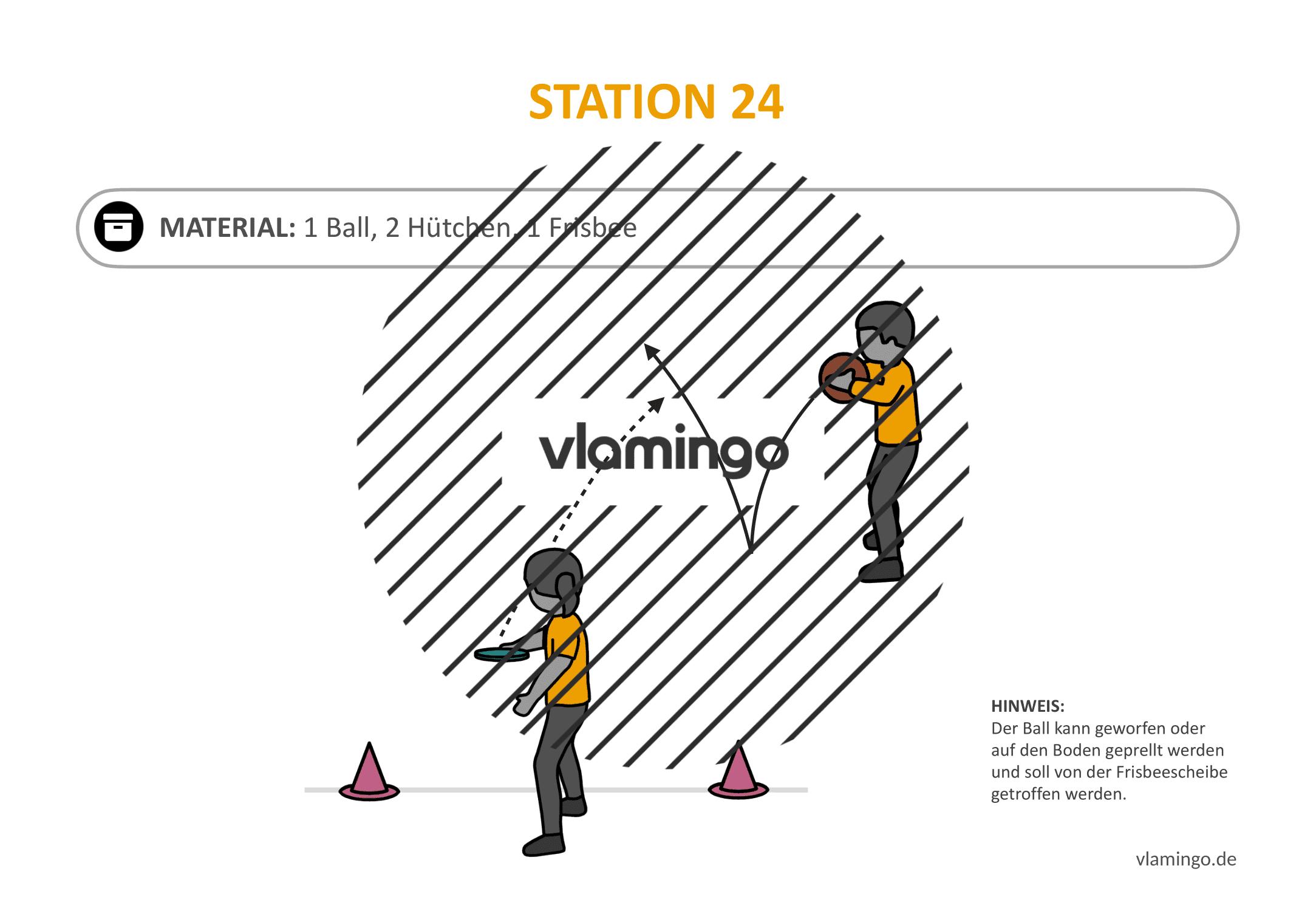 Frisbeegolf (Disc-Golf) - Station 24