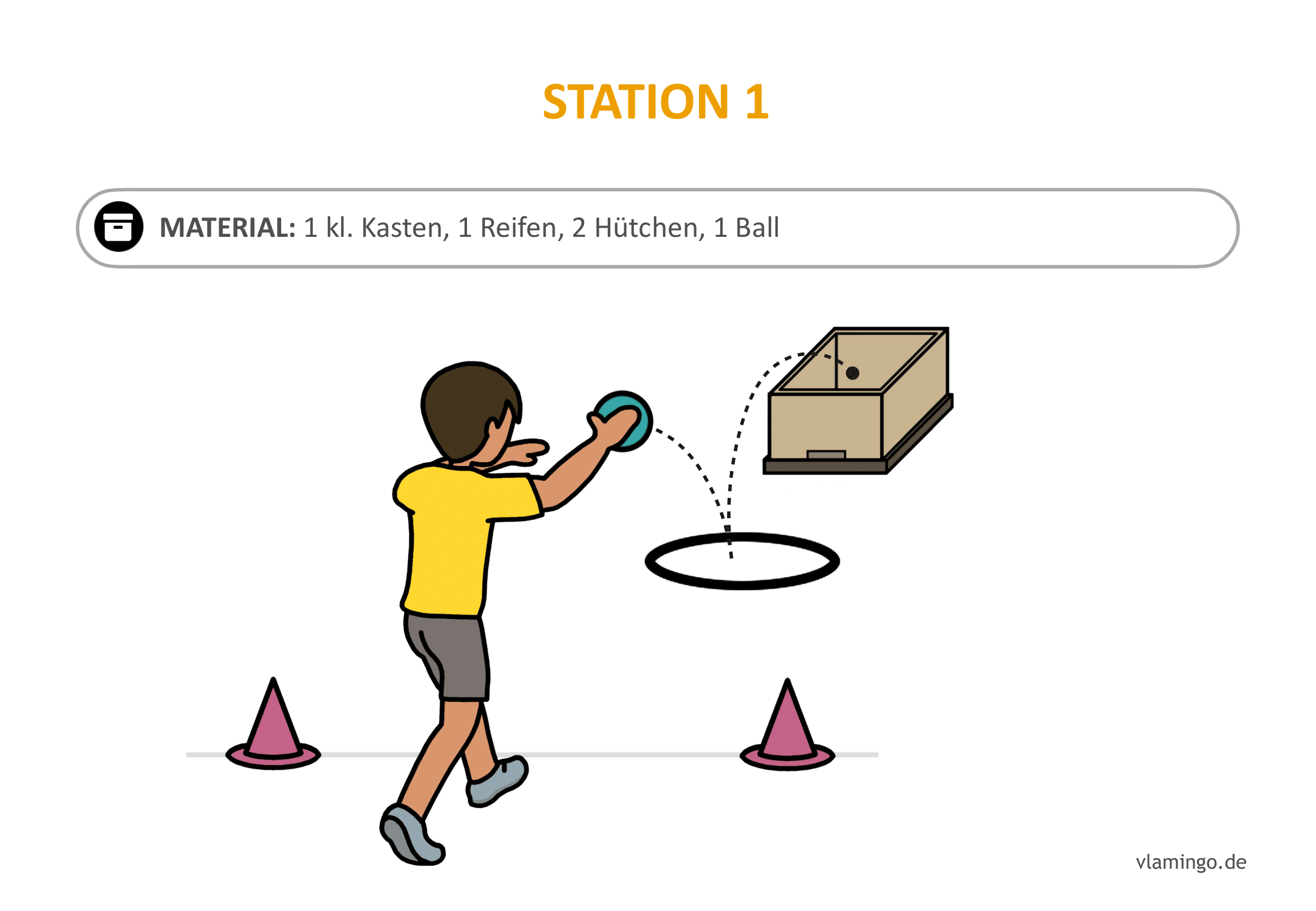 Handballgolf - Station-01