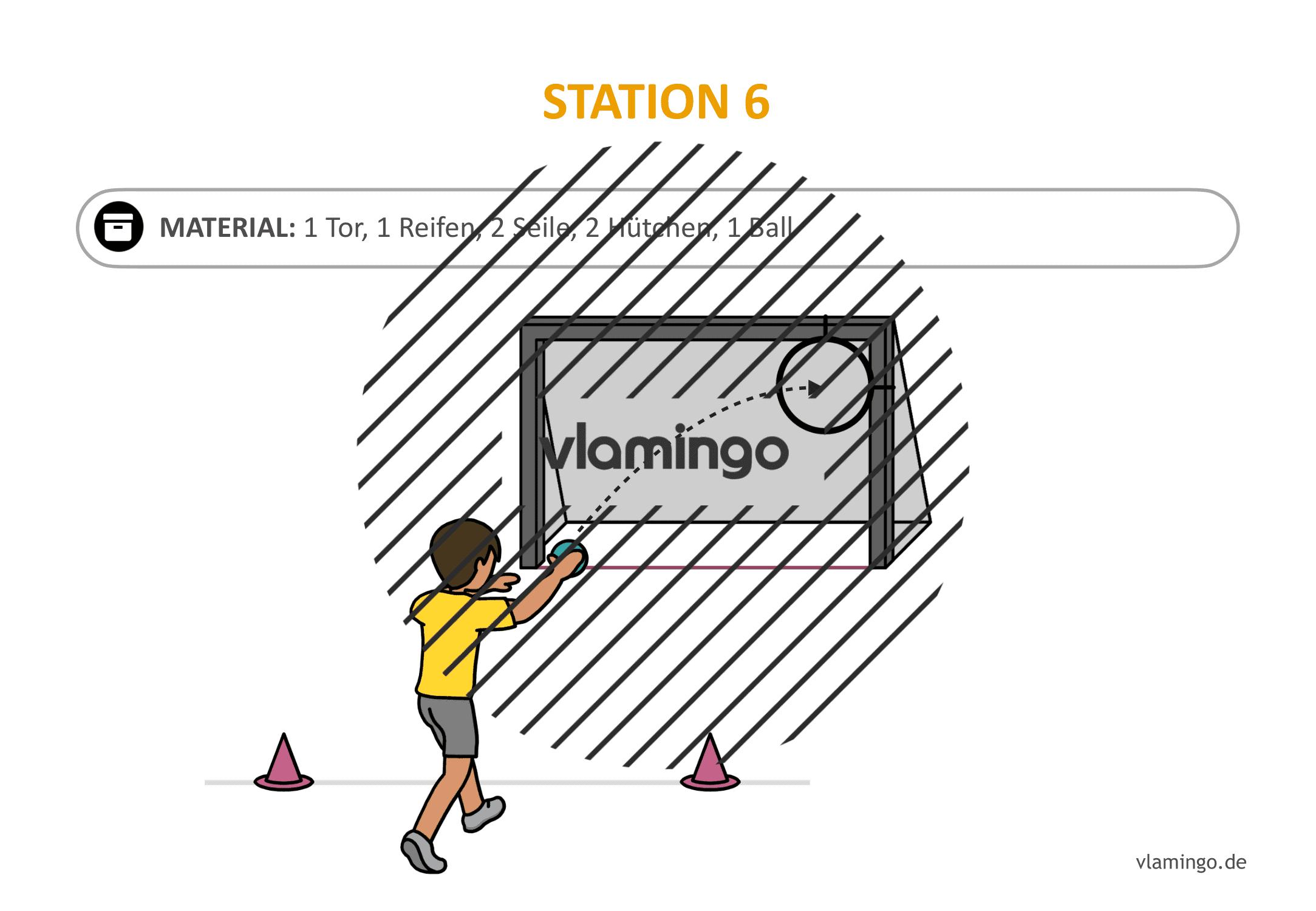 Handballgolf - Station-06