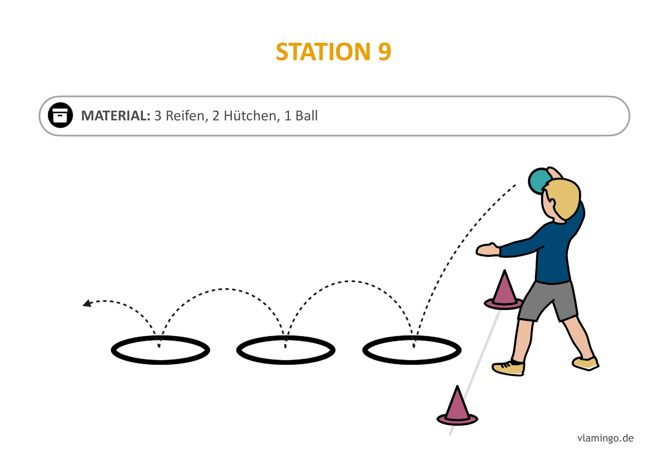 Handballgolf - Station-09