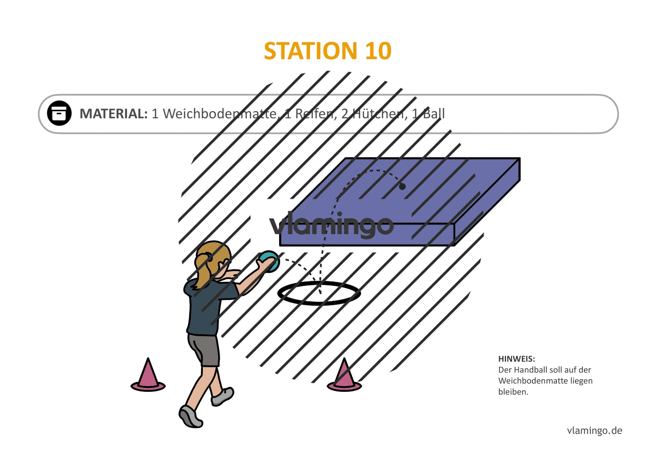 Handballgolf - Station-10