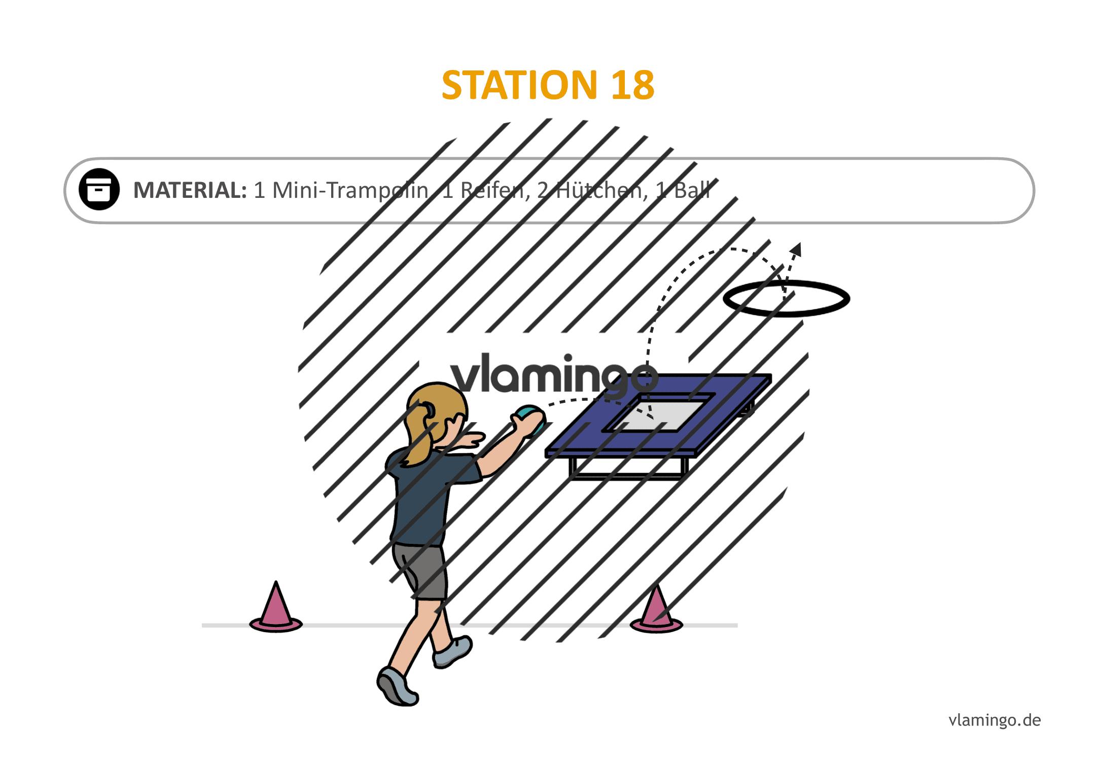 Handballgolf - Station-18