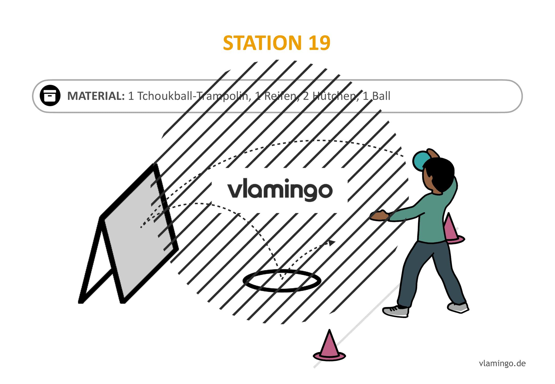 Handballgolf - Station-19