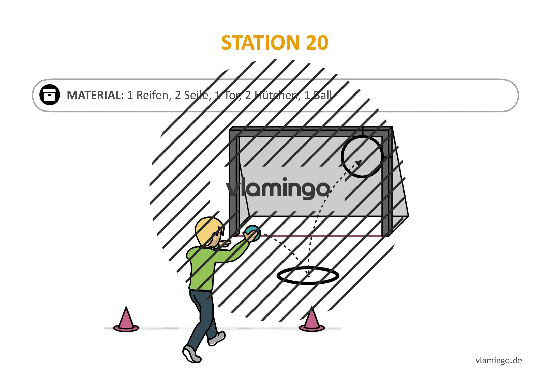 Handballgolf - Station-20