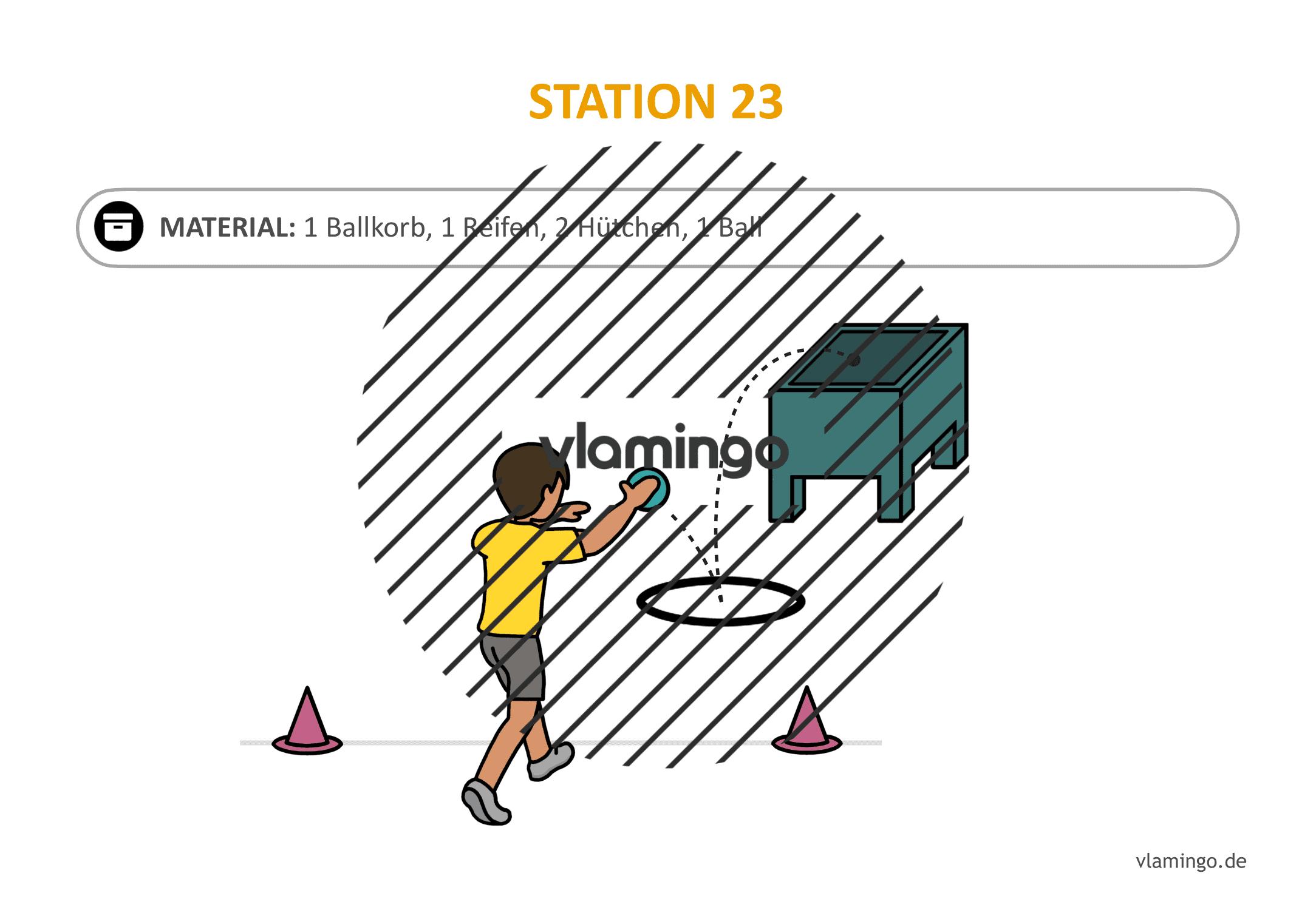 Handballgolf - Station-23