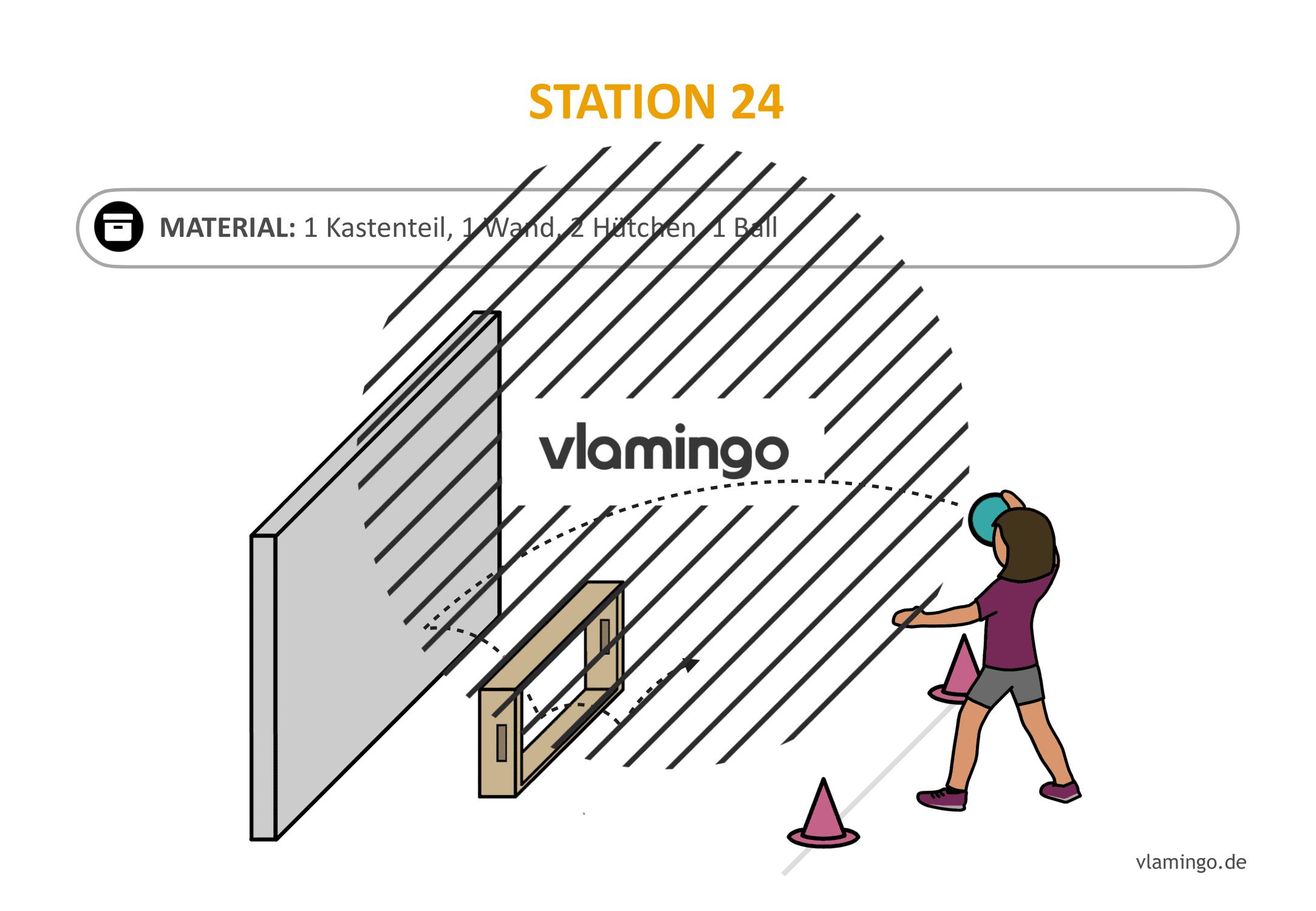 Handballgolf - Station-24