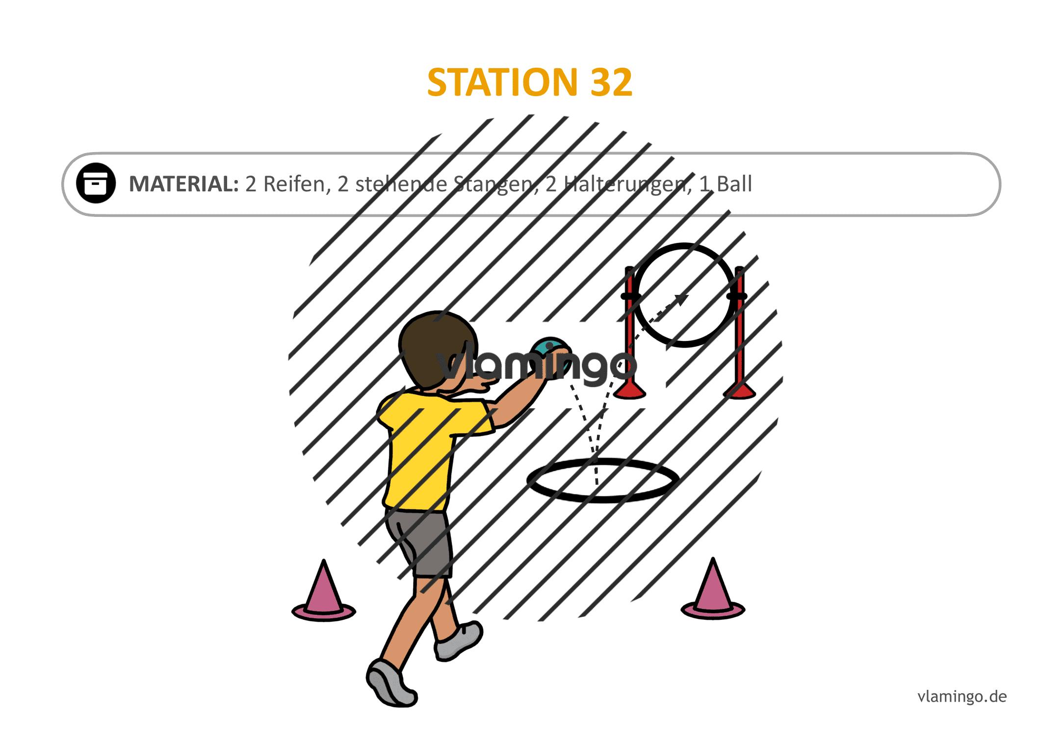 Handballgolf - Station-32