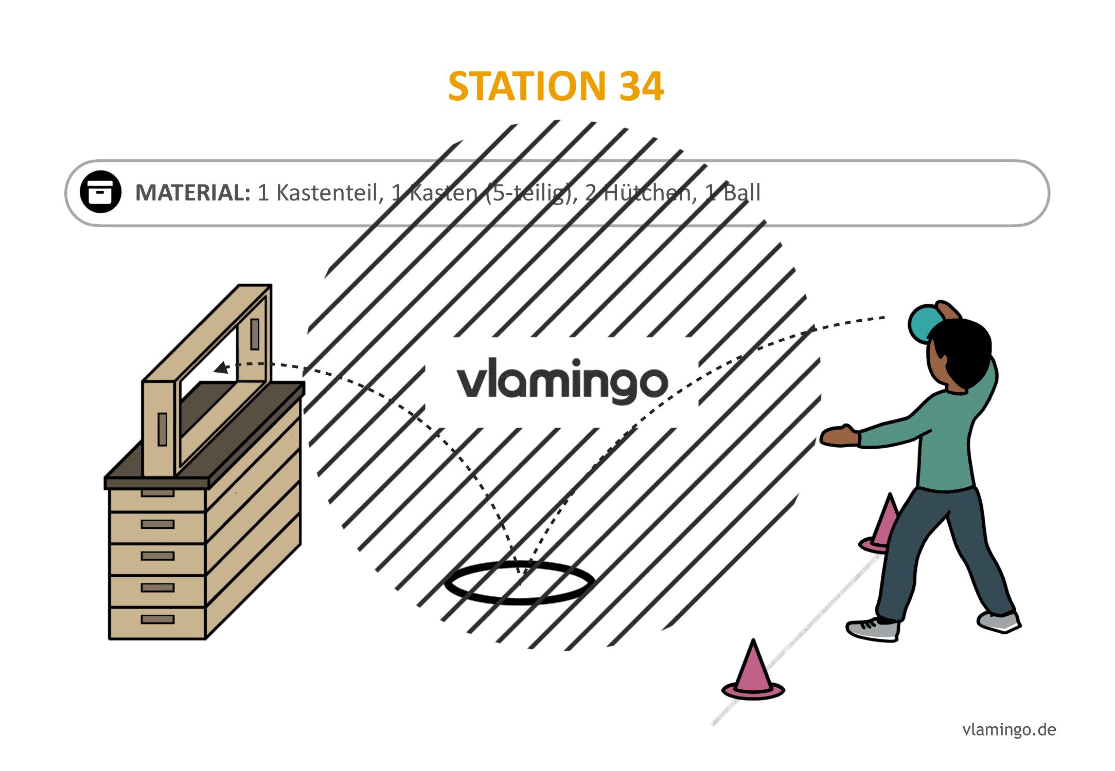 Handballgolf - Station-34