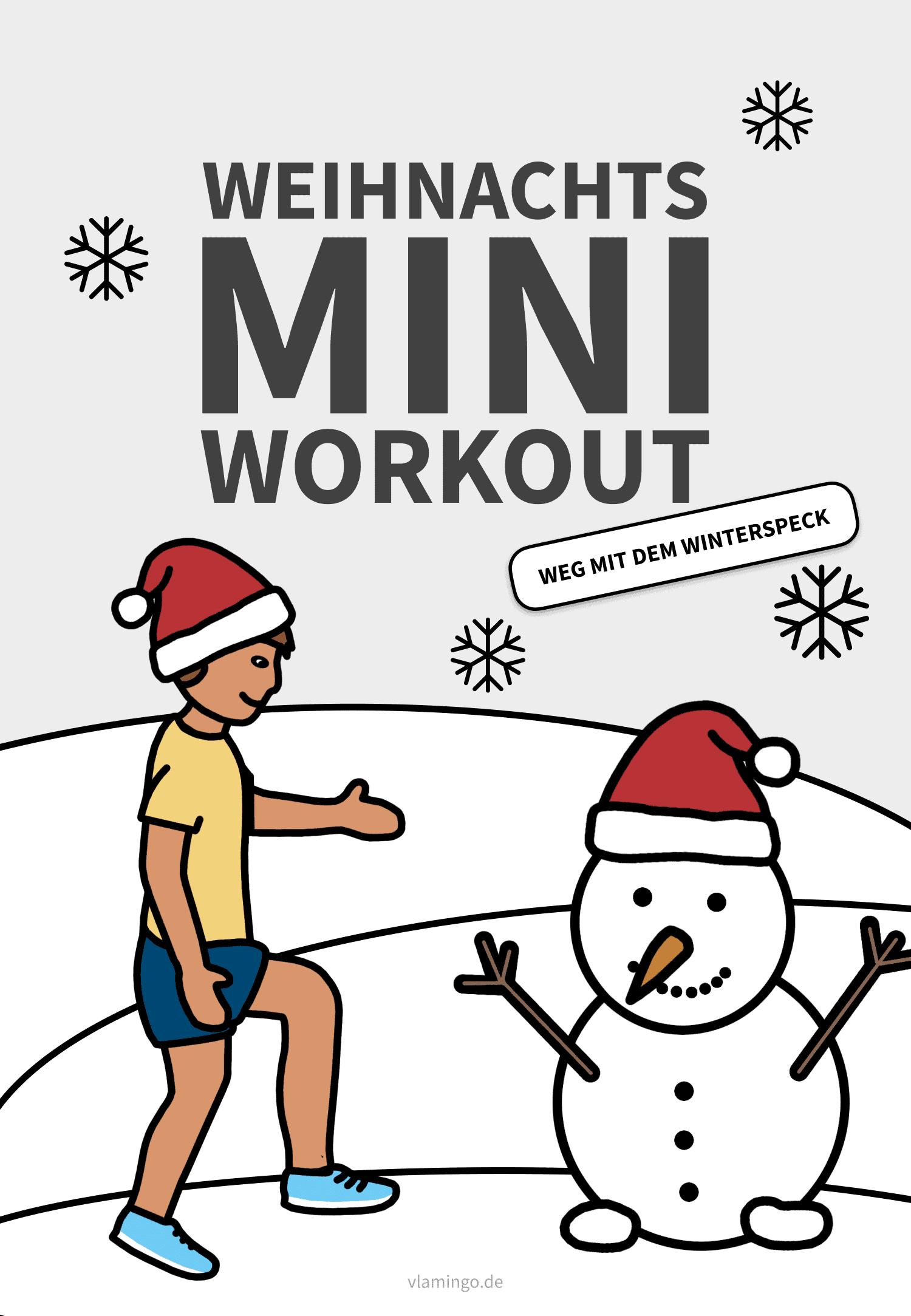 Mini-Weihnachts-Workout für Zuhause
