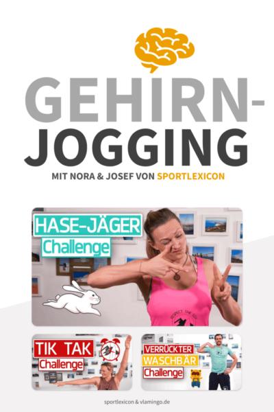 Gehirnjogging mit Nora & Josef von sportlexicon