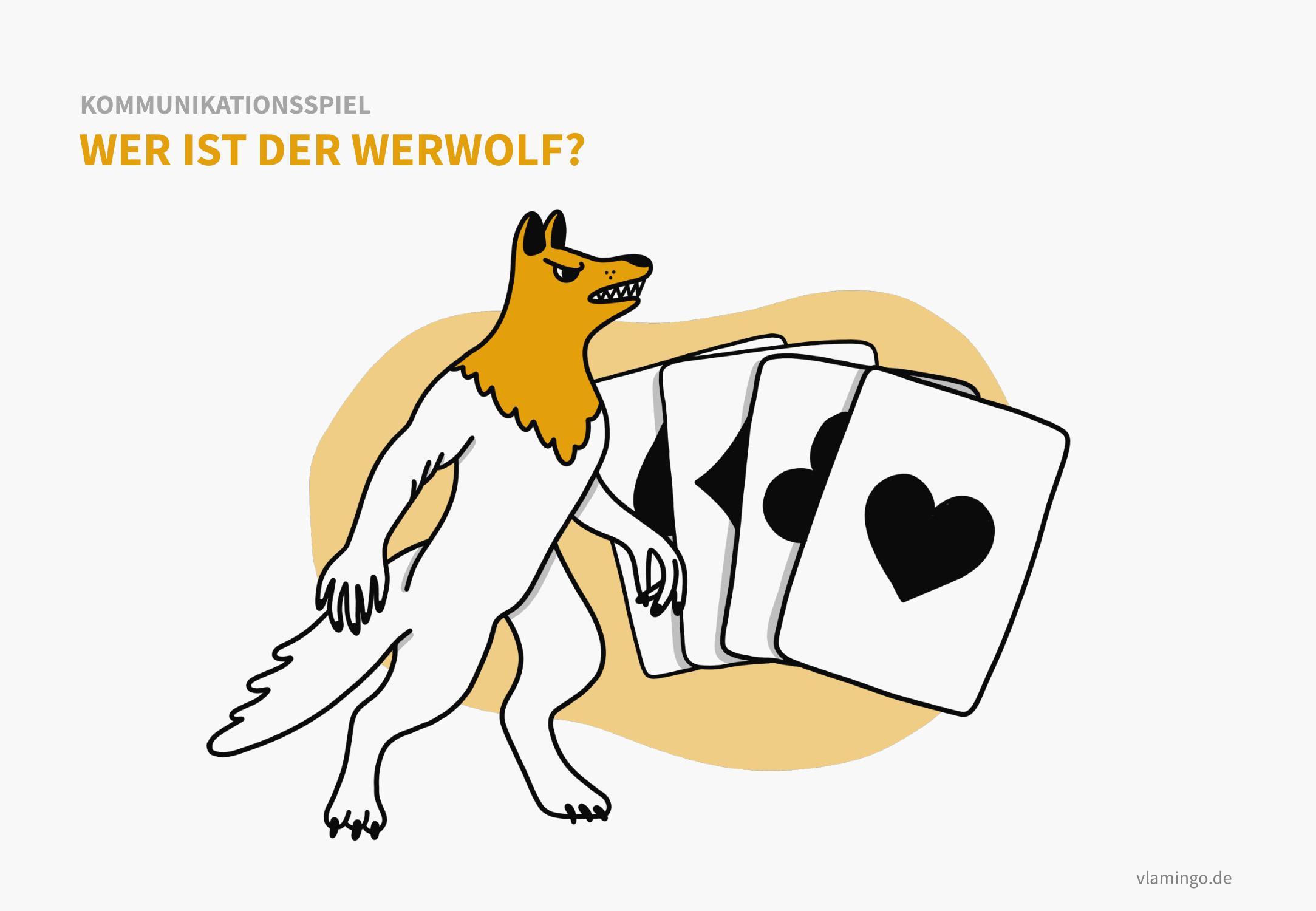 Kommunikationsspiel: Wer ist der Werwolf?