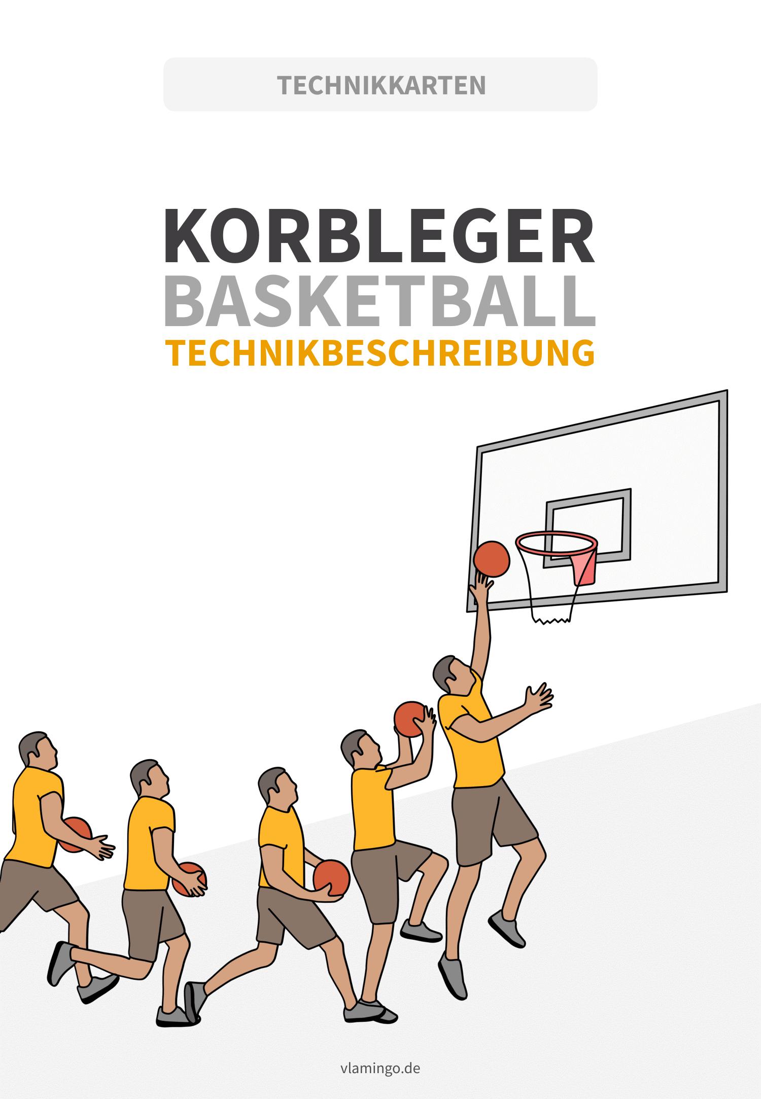 Basketball - Korbleger - Deckblatt