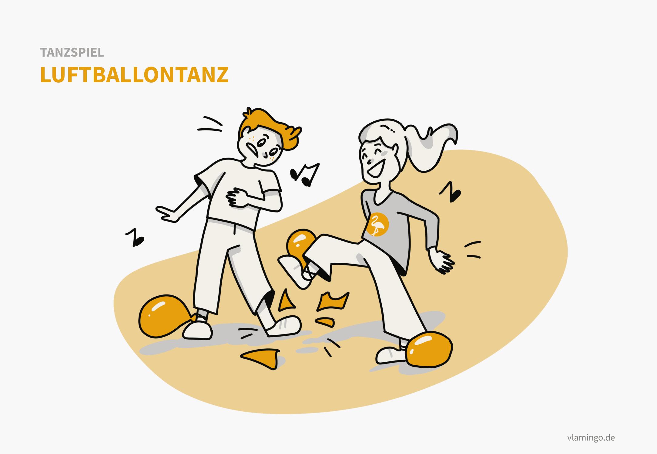 Tanzspiel - Luftballontanz