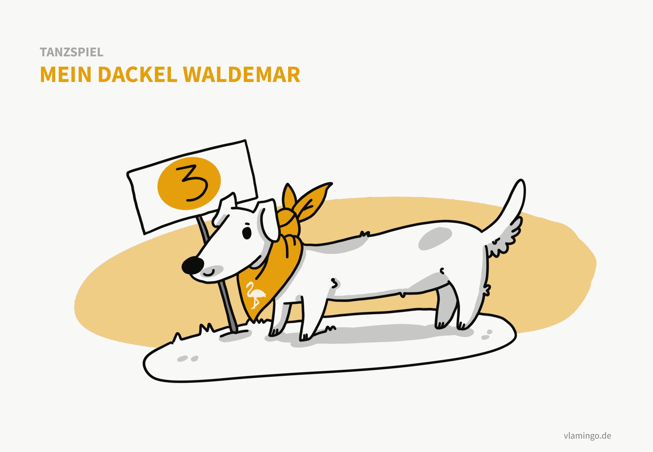 Tanzspiel - Mein Dackel Waldemar
