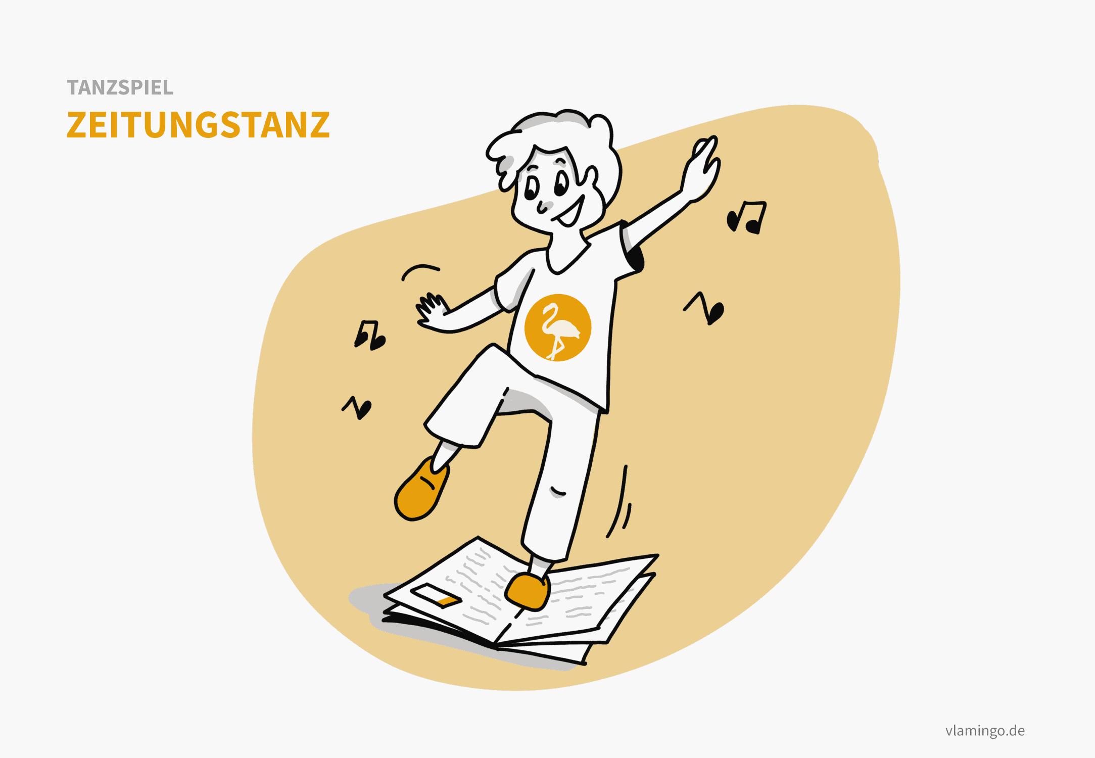 Tanzspiel - Zeitungstanz