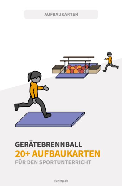 Gerätebrennball - Aufbaukarten 1